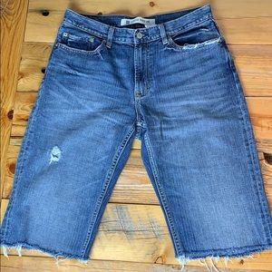 Gap Loose Boot Fit Jean Cut Off Shorts - 32